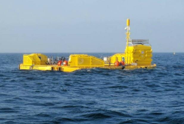 WaveHub is the spine of Marine Hub Cornwall which is set across three sites.
